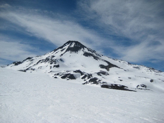 The north face of Volcan Chillan
