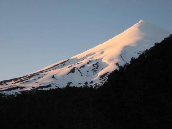 Sunrise on the Volcan Osorno
