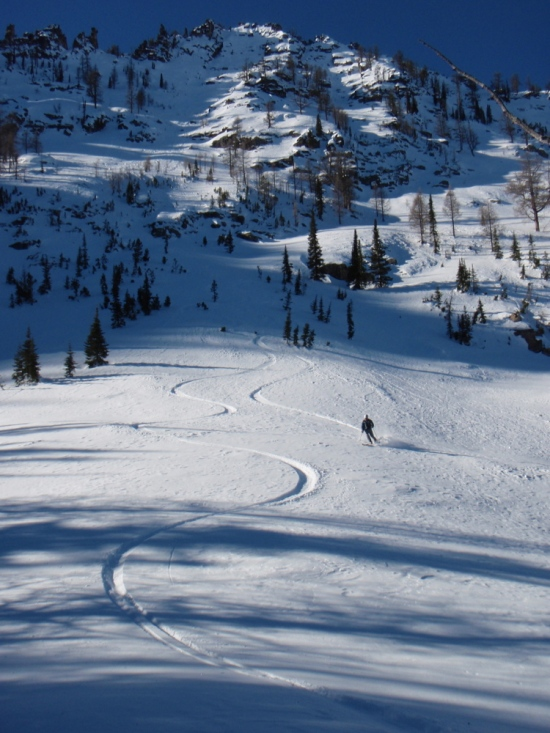 Skiing Mill 2 east