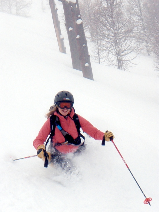 Smile when you ski!